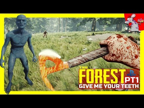 The Forest PS4 Gameplay - How To Survive The First Day - Let's Play