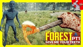 The Forest PS4 Gameplay - How To Survive The First Day - Let