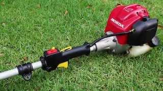 Honda UMK425U 25cc 4-Stroke Brushcutter String Trimmer Line Trimmer Startup Cold Start Revving Sound thumbnail