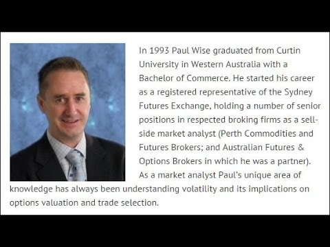 Bought Straddles and Earnings Plays by Paul Wise