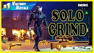 NEW SKIN TODAY in FORTNITE! - SOLO GRIND | BASIC FORTNITE PLAYER | 275 SOLO WINS | 4300+ KILLS