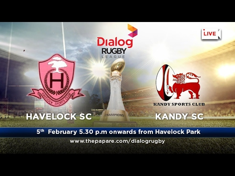 Havelock SC v Kandy SC - Dialog Rugby League 2016/17 - Match #52