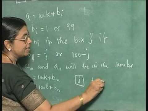 Lecture 27-Pigeonhole Principle