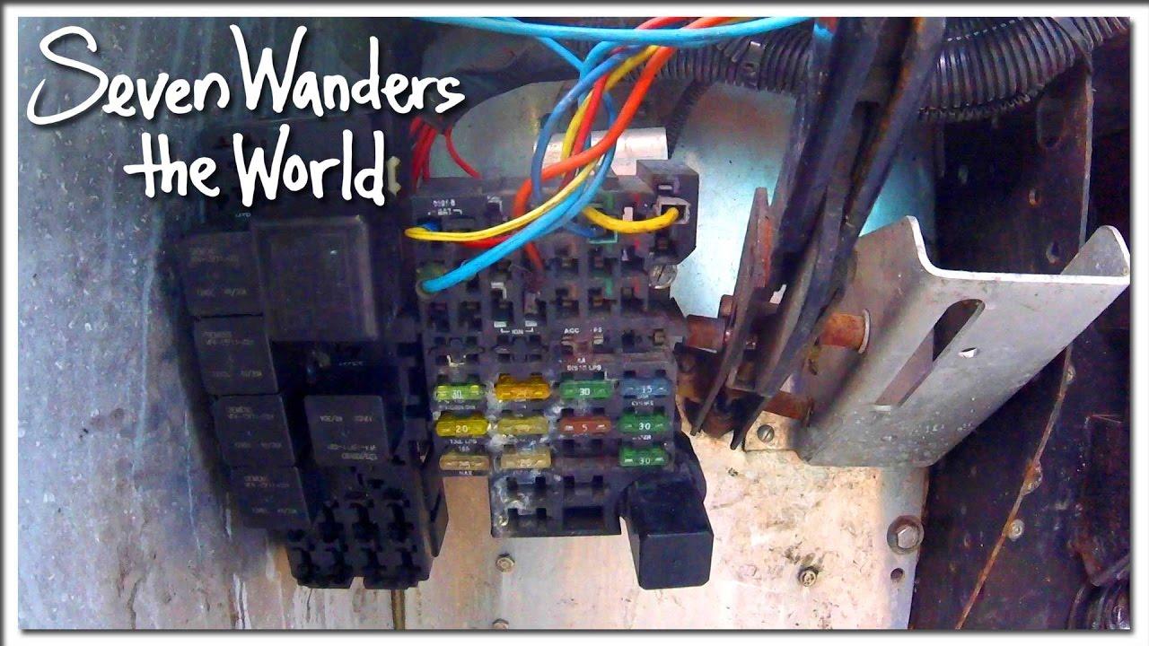 Step Van Conversion Crazy Electronics E209