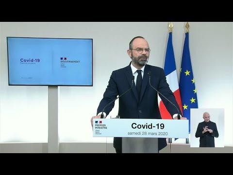 Édouard Philippe défend l'action du gouvernement face au coronavirus: