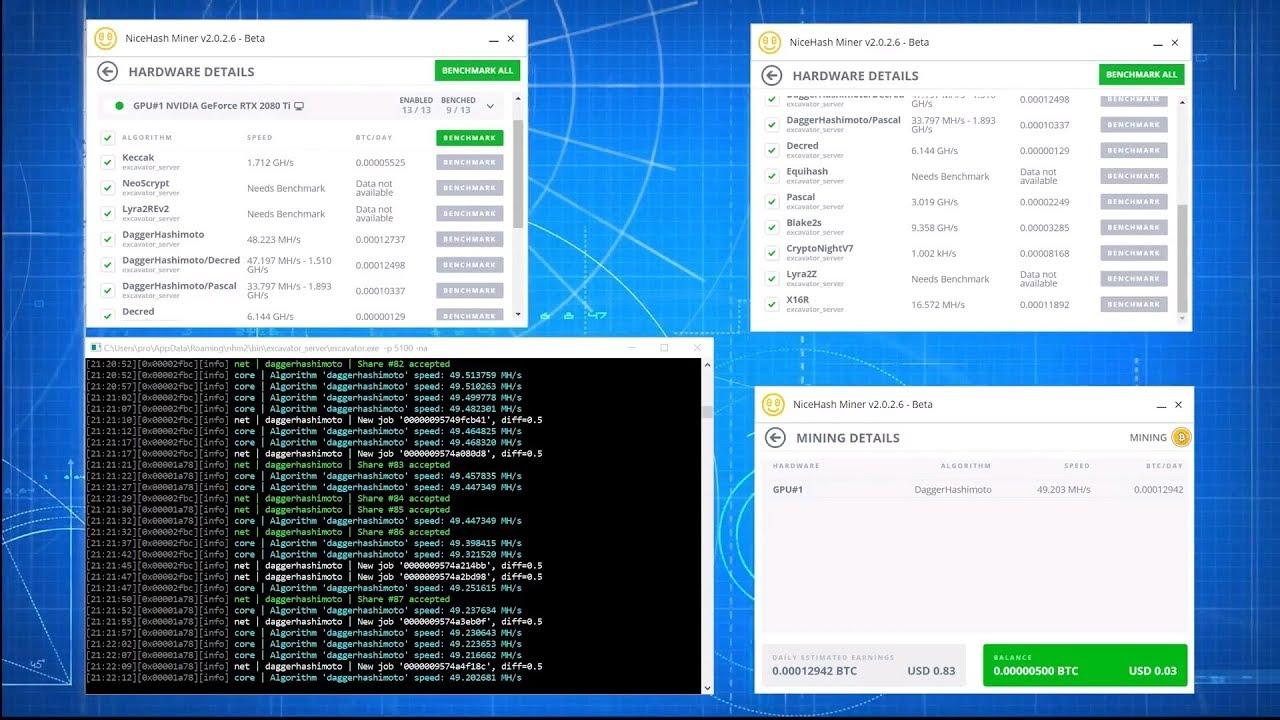 RTX 2080 TI vs 1080 TI vs VEGA 64 mining and gaming test