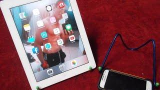 Como Hacer Un Soporte Casero Para Ipad Tableta o Móvil(Muy Fácil)Support Home For Ipad Tablet, Movil