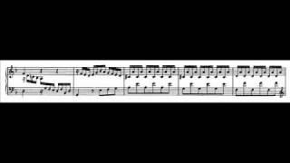 J.S. Bach - BWV 875a - Praeambulum d-moll / D minor