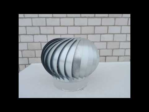 Дефлектор вращающийся своими руками
