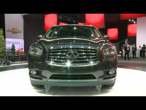 Detroit Auto Show 2017 Infiniti Jx35 Consumer Reports