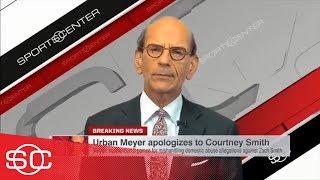 Finebaum on Urban Meyer's apology: 'A cheap PR stunt from a desperate man'   SportsCenter   ESPN