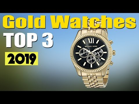 Best Gold Watches For Men 2019 - Best Mens Gold Watches