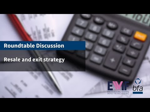 8. Roundtable discussion - resale and exit strategy