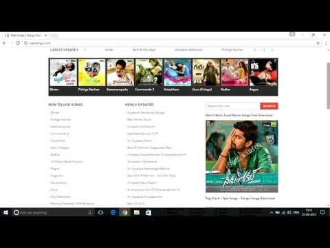 how to download hindi,tamil and telugu songs on single click