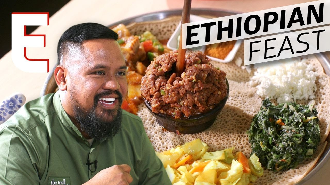 Cooking: How Injera Bread Brings Together a Traditional Ethiopian Meal