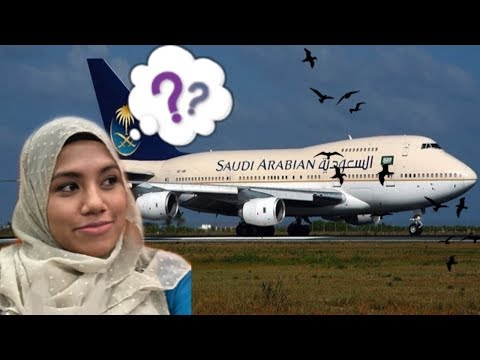 VLOG 2 (Morocco & Spain Trip) : Flight Experience with Saudi Arabia Airline 2