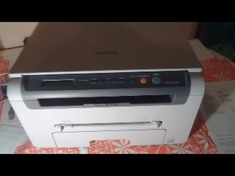 долгий прогрев, тусклая грязная печать (ремонт бушигна) Samsung SCX-4200