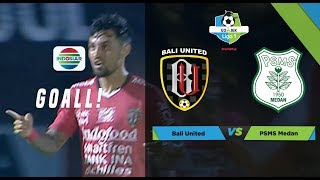 WOWWW!! Skema Cantik Permainan Bali United Bikin Stefano Lilipaly Cetak Gol Perdana di Liga 1