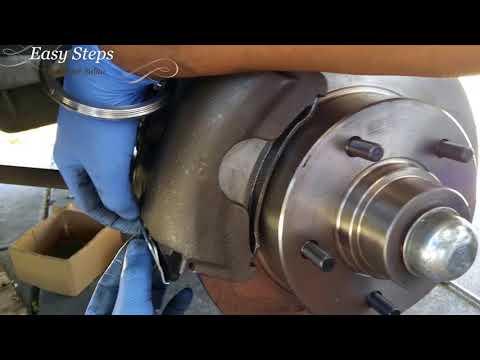 How to Install Brake Pads on Dodge Ram | Front Brake Job | Van B250