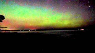 Aurora Borealis 17.3.2015 Houghton Michigan