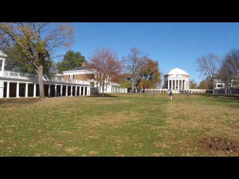 UVA University of Virginia grounds tour