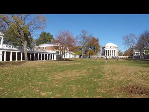 UVA University of Virginia grounds tour