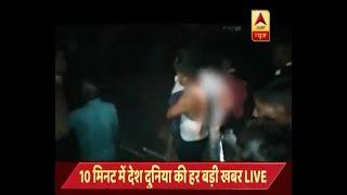 सेल्फी लेने के दौरान झरने में गिरी लड़की की मौत, पाताल पानी घूमने आई थी | ABP News Hindi