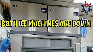We were called on both machines not working and found several issues with both, after cleaning them and making some needed adjustments we got them ...