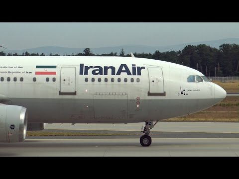 Iran Air - Airbus A300 | Landing at Frankfurt FRA | 18.07.2015