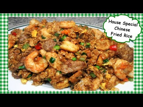 The Best Chinese House Special Fried Rice Recipe ~ Chinese Stir Fry