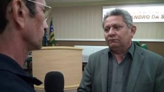 Jorge Brito fala do transporte para portadores de hemodialise