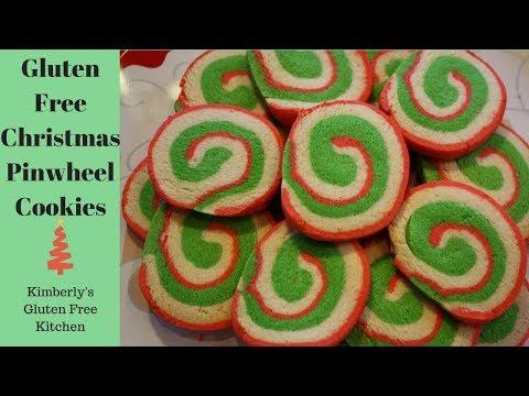 How To Make Gluten Free Christmas Pinwheel Cookies