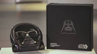 Samsung POWERbot VR7000 Star Wars Edition: Design and Features