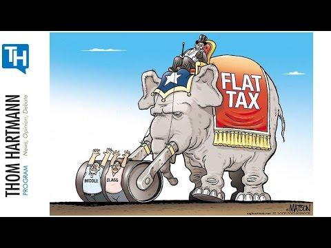 Trump's Tax Plan Just a Back Door Flat Tax to Benefit Billionaires (w/Guest Marshall Steinbaum)