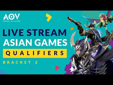 Saksikan open Qualifier AOV Bracket 2 - Road To Asian Games Day 1