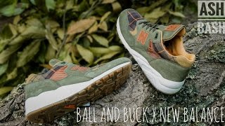 Ball and Buck x New Balance 585 | Sporting Gentleman | Ash Bash