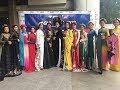 Vietnamese Traditional Dress Ao Dai Fashion Show - |Asia Day 2018| Bangkok University