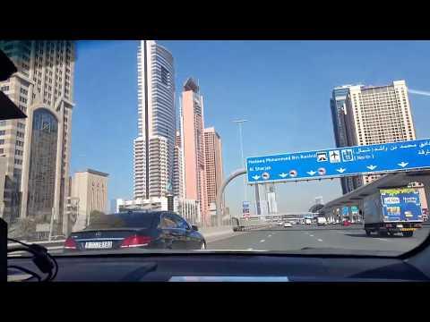 În drum spre  Dubai  Mall,  BURJ  KHALIFA , Aquarium