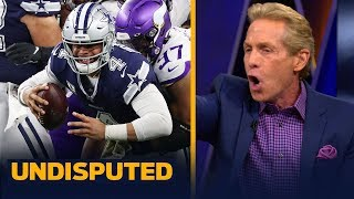 Skip Bayless reacts to the Dallas Cowboys' Week 10 loss to the Vikings | NFL | UNDISPUTED
