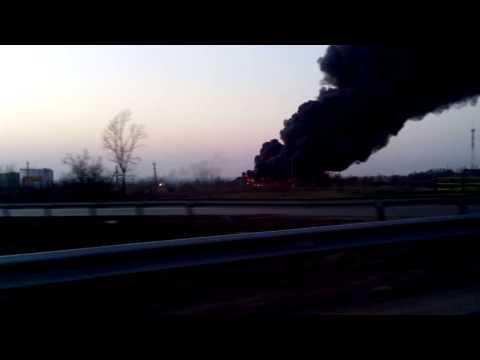 Пожар в Отрадном