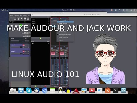 How to make Ardour and Jack work in Elementary OS LINUX DAW 101