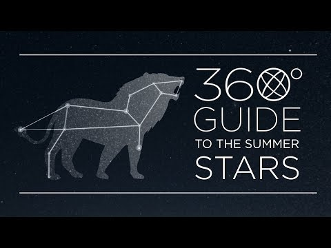 How To Find The Summer Constellations (360°)