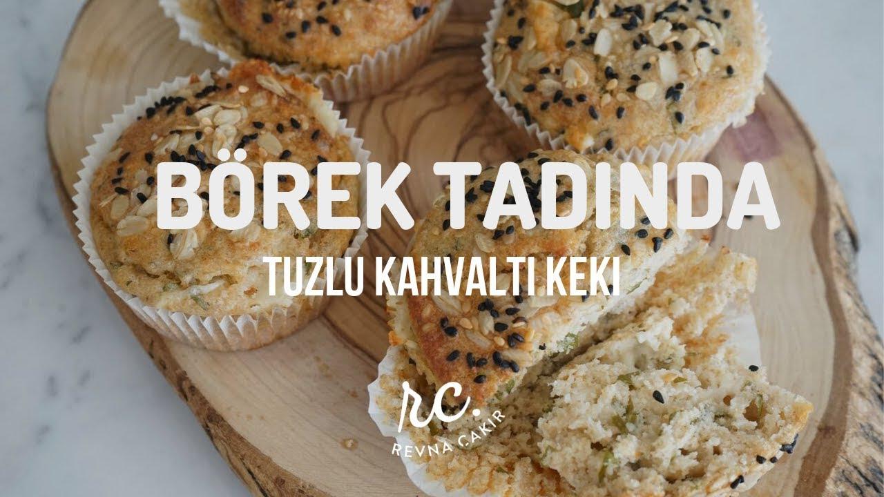 Börek Tadında Tuzlu Peynirli Muffin I Pratik Tuzlu Kek Tarifi!