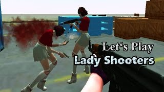 Let's Play: Lady Shooters (3D Multiplayer Shooter)