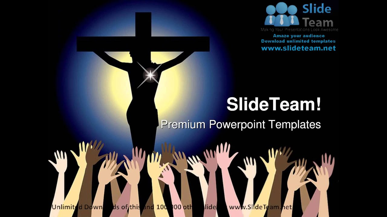 Power Of Jesus Christ Religion Powerpoint Templates Themes And Backgrounds  Graphic Designs - Youtube