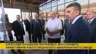 Александр Лукашенко посетил Оршанский район
