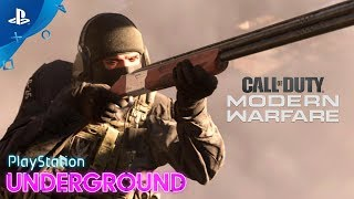Call of Duty: Modern Warfare - 2v2 PS4 Gameplay - PlayStation Underground