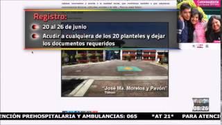 IEMS convocatoria de ingreso 2015-16