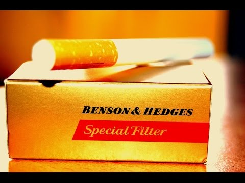 Benson & Hedges 20 Box/Pack Review