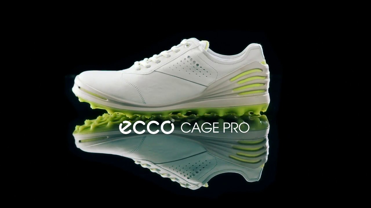 ECCO Cage Pro - Men s Golf Shoe SS17 - YouTube bb142229764